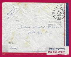 Enveloppe En Franchise Militaire - Poste Aux Armées - TOE - Secteur Postal 68 322 - Marcophilie (Lettres)