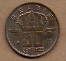 50 Centimes  1980 FL - 03. 50 Centimes
