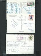 Monaco , 78 Cartes Postales Avec Affranchissement Philatélique - Collections, Lots & Séries