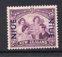 1946 NIUE Overprint On NZ Stamp 4c Mint Not Hinged Stamp - Niue