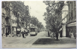 L'AVENUE DE LA GARE - NICE - Transport (rail) - Station