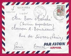 Enveloppe Poste Aérienne - Poste Aux Armées - Voyagée En 1965 - Marcophilie (Lettres)