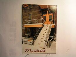 Montréal - Rue Mont Royal - Les Escaliers.... - Montreal