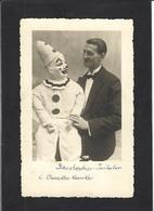 CPA Cirque Cirk Circus écrite Ventriloque - Cirque