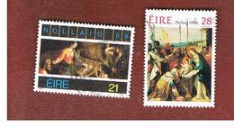 IRLANDA (IRELAND) -  SG 654.655   -    1986  CHRISTMAS (COMPLET SET OF 2)  -     USED - 1949-... Repubblica D'Irlanda