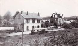 19 - Correze - TREIGNAC - La Gare - Train Autorail Billard - Treignac