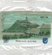 SLOVAKIA - Stamp Exhibition Nitrafila , 250 SK , Tirage 1.000, 06/03, Mint - Slovacchia