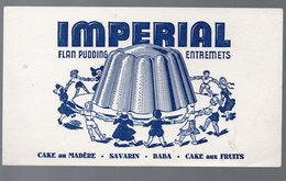 Buvard : IMPERIAL Flan Pudding Entremets  (PPP10261) - Animals