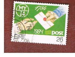 IRLANDA (IRELAND) -  SG 599  -    1984   IRISH POST OFFICE BICENTENARY  -     USED - 1949-... Repubblica D'Irlanda