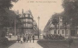 REIMS RUE THIERS PRISE DU SQUARE COLBERT - Reims