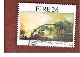 IRLANDA (IRELAND) -  SG 606  -    1985  800^ ANNIVERSARY OF CORK  -     USED - 1949-... Repubblica D'Irlanda