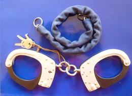 OBJETS DE SURETE OU MENOTTES AUTOMATIQUES MLE 1990 - Police & Gendarmerie
