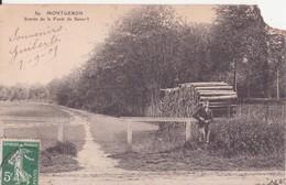 CPA - 59. MONTGERON - Entrée De La Forêt De Sénart - Montgeron