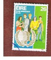 IRLANDA (IRELAND) -  SG 622 -    1985  INT. YOUTH YEAR   -     USED - 1949-... Repubblica D'Irlanda