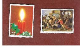 IRLANDA (IRELAND) -  SG 626.629 -    1985  CHRISTMAS   -     USED - 1949-... Repubblica D'Irlanda