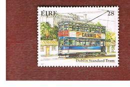 IRLANDA (IRELAND) -  SG 659   -    1987 IRISH TRAM: DUBLIN STANTARD  -     USED - 1949-... Repubblica D'Irlanda
