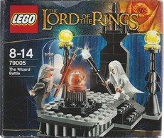 LEGO LORD Of The RINGS N° 79005 - The WIZARD BATTLE - Complet BOÎTE Et NOTICE - Lego System