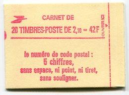 RC 11725 FRANCE CARNET 2319-C4 LIBERTÉ 20 TIMBRES A 2,10f MNH NEUF ** - Freimarke