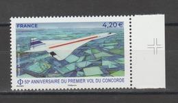FRANCE / 2019 / Y&T PA N° 83 ** : Concorde (de Feuille) BdF D Croix - Gomme D'origine Intacte - Poste Aérienne