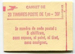 RC 11726 FRANCE CARNET 2220-C8 LIBERTÉ 20 TIMBRES A 1,80f MNH NEUF ** - Carnets