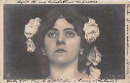 ¤¤   -   Carte-Photo D'une Femme Style Art-Nouveau  -  Carte Ayant Voyagée En Suisse  -  ¤¤ - Femmes