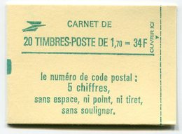 RC 11728 FRANCE CARNET 2318-C1 LIBERTÉ 20 TIMBRES A 1,70f MNH NEUF ** - Carnets