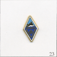Pin's Armée - Armée De Terre / 1er Régiment Du Génie Garigliano Rhône-Rhin. Estampillé Ballard. Zamac. T656-23 - Army