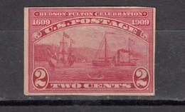 USA  Centenaire De La Navigation Sur Hudson  Non Dentelé - Ungebraucht