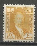 Iraq - 1932 Faisal 10f MH*  SG 143 - Iraq