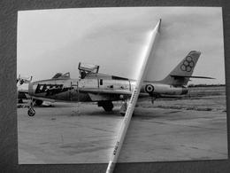 FOTOGRAFIA  AEREO REPUBLIC F 84 GETTI TONANTI - Aviation