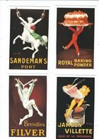 SET OF 6 POSTCARDS PUBL. BY DALKEITHS   JEAN D'YLEN  POSTER ARTWORK - Advertising