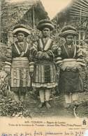 Vietnam - Viêt Nam - Tonkin - Région De Laokay - Tribu De La Frontière Du Yunnam - Jeunes Filles Méo ( Tribu Fleurie ) - Viêt-Nam
