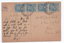 1935 - CP Du JAPON / JAPAN Avec TàD GIBRALTAR PAQUEBOT Pour NICE - Gibraltar