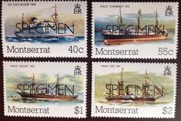 Montserrat 1980 Mail Packet Boats Ships Specimen MNH - Montserrat