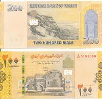 Yemen - 200 Rials 2018 UNC Lemberg-Zp - Yemen