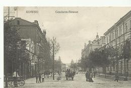 Kowno Gendarm Strasse   (11515) - Lituanie