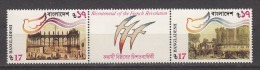 BANGLADESH 1989  Bicentenary  French Revolution 2v Setenant Set. MNH(**) - Bangladesh