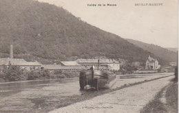 1915  Vallée De La Meuse -  Deville Mairupt  - Péniche - Charleville