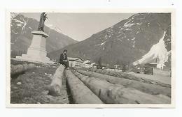 Photographie 73 Savoie Bessans En Maurienne 1931 Photo 11x6,4 Cm Env - Luoghi