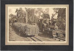 CPA Australie Australia Non Circulé Train Chemin De Fer Métier Non Circulé - Non Classés