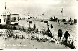 006801  Bergen Aan Zee - Strandafgang - Pays-Bas