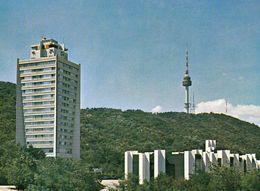 1 AK Südkorea South Korea * Hauptstadt Seoul - Tower Hotel Und Der Fernsehturm N Seoul Tower Auch Nansen Tower * - Corée Du Sud