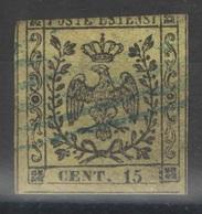 Modène - YT 3 Oblitéré - 1852 - Modena