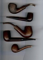 Lot 5 Pipes En Bruyère - Heather Pipes