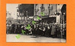CARTE PHOTO DE 1925 - 03 - VICHY - CONCOURS DE MUSIQUE - HARMONIE D'AIXE SUR VIENNE - 87 - Vichy