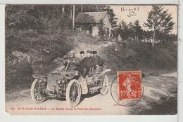 68 - AU BALLON D'ALSACE - La Montée Devant Le Poste Des Douaniers - Automobile - France