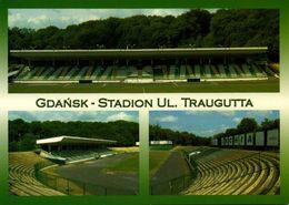 Poland, GDANSK, Stadion Ul. Traugutta (2004) Stadium Postcard - Soccer