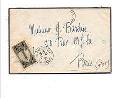MAROC LETTRE DE CASABLANCA POUR LA FRANCE 1930 - Briefe U. Dokumente