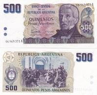 Argentina - 500 Pesos 1984 UNC Pick 316 Lemberg-Zp - Argentine