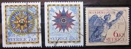 SUEDE                 N° 1988/1990             OBLITERE - Suède